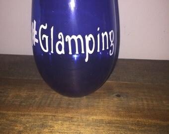 Glamping Wine Glass