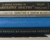 vintage textbooks, nuclear energy, quantum physics, radiation, from Diz Has Neat Stuff