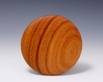 "A  5"" Doussie Round Wooden Rib for Throwing Perfect Bowls Re-design ((© Copy right #TXu 1-961-453) by Hsinchuen Lin 林新春"