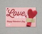 Love is in the Air Balloon Classroom Valentine  - Digital File