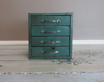 Metal Storage Cabinet Metal Cabinet Industrial Cabinet Army Green Industrial Office Metal File with Drawers File Storage Jewelry Box