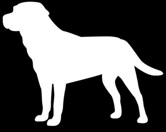 Labrador Retriever Vinyl Decal - Labrador Decal
