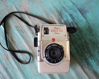 Brownie Bull's-Eye Camera, Vintage Kodak Camera, Photography, Retro Collectible