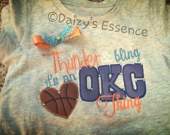 OKC Thunder shirt