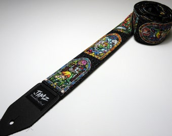 Viedo game character handmade double padded guitar strap - This is NOT a licensed product