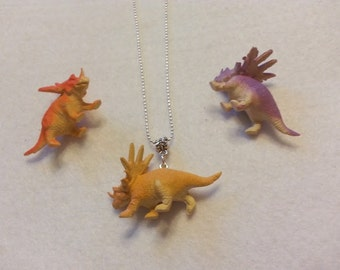 3D Retro  Realist Dinosaur Earrings