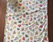 Turtles Minky Baby Blanket