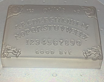Flexible Plastic Ouija Board Soap or Chocolate Mold