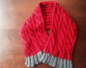 Child Knitted Scarf
