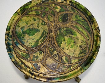 The Celtic Knot Tree of Life Tea Table