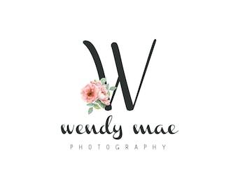 Premade Logo / Monogram Logo/ Boutique Logo / Photography Logo / Watermark / Logo Design / Business Branding /  Customized Logo  / Custom