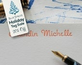 20% Off HOLIDAY TAG SALE - A2 - Romany Signature Collection - Personalized Letterpress Note Cards - Boxed Set of 24