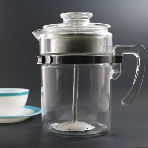 Pyrex Coffee Maker How To Use : Pyrex Flameware 7826 B Coffee Maker Percolator