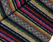 Thai Woven Cotton Fabric Tribal Fabric Native Fabric by the yard Ethnic fabric Aztec fabric Craft Supplies Woven Textile 1/2 yard (WF11)