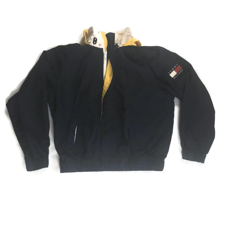90s tommy hilfiger jacket windbreaker. Black Bedroom Furniture Sets. Home Design Ideas