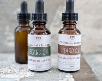 Herbal Beard Oil {Growth}