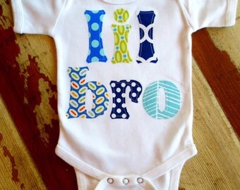 Lil Bro Onesie 0-3m to 18 months, White or Heather Gray, Short or Long Sleeved.