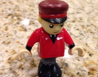 Vintage Brio Train conductor plastic Toy Play
