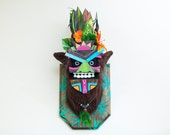 Tiki Mask Yeti Trophy