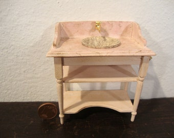 miniature cabinet with sink