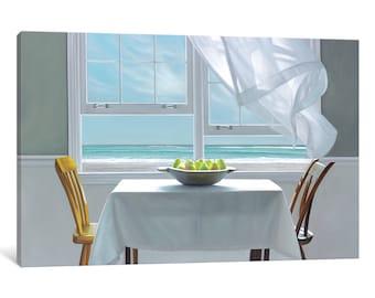 iCanvas Meditation Gallery Wrapped Canvas Art Print by Karen Hollingsworth