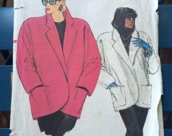1989's Vogue jacket pattern.
