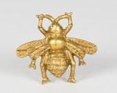 Golden Bumble Bee Vintage door knob