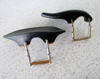 Vintage Violin Chin Rests 2 Adjustable Germany Bakelite