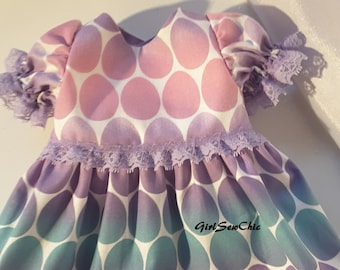 18 Inch Doll Clothes Easter Dress Pastel