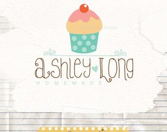 Bakery premade logo - budget logos - cute logos - bakery logos - bakery branding - cake logo