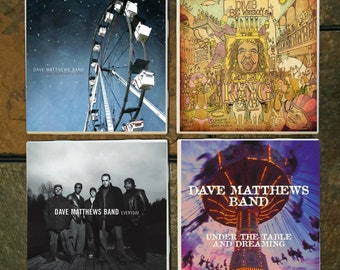 Dave Matthews Band Coasters set