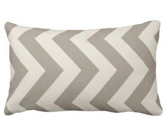 neutral outdoor pillow, outdoor chevron pillow, outdoor lumbar cover, 12x24 pillow cover, beige outdoor pillow, outdoor pillow cover, lumbar