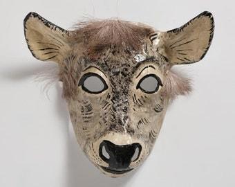 Halloween doe paper mask