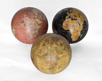 Set of 3 Mini Globes
