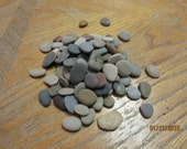 Sorted and Sized Mosaic Craft Stones 100 Beach Stones Stone Craft Supplies