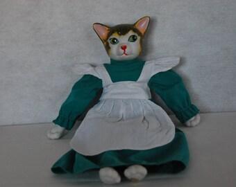 Vintage Prestige Porcelain Cat Doll