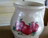Hand Painted Apple Warmer/Melt Pot