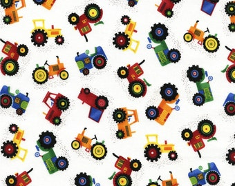 Mini Farm Tractors from Timeless Treasure's Farm & Country Collection