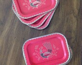Set of 8 small trays