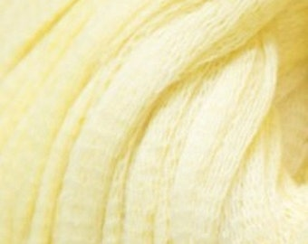 Debbie Bliss Delphi - 100% Soft Cotton - Bulky Weight - 54 yds/ball - Lemon