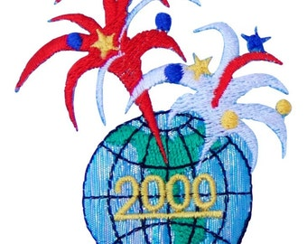 2000 Globe Firework Patch X American Deadstock Patches