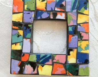 MINI Size Mosaic Frame - Multi-Color China