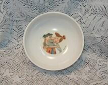 Vintage Melmac Flintstones Cereal Bowl Childs Bowl