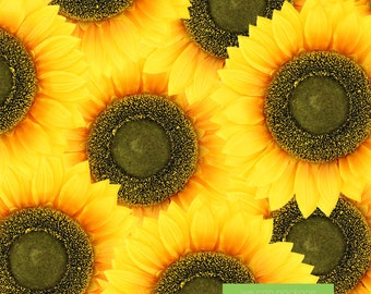 Artificial Sunflower Head for Wedding Backdrops  and Flower Wall