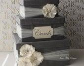 Wedding Card Box, Money Box, Custom Card Box - Custom Made to Order