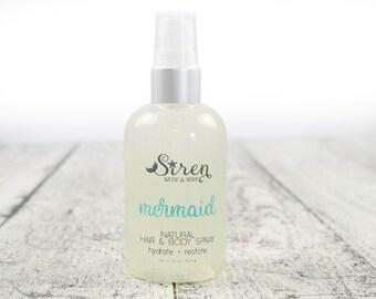 Mermaid Hair and Body Spray . Body Spray . Hair Spray . Pineapple . Palm