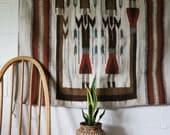 Vintage Wool Rug, Peruvian