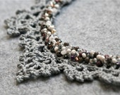 Crochet Lace Necklace - PDF PATTERN