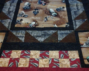 Indian Motorcycle Quilt