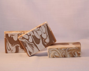 SALE! Oatmeal Milk n Honey Scented Soap, Handmade Cold Process Soap, Best Seller, Artisan Soap Ready to Ship Today!